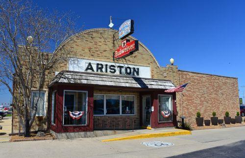 ariston restaurant route 66