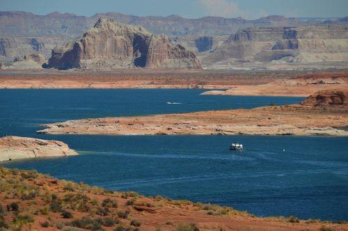 arizona landscape lake