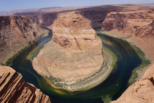 arizona  horseshoe bend  page