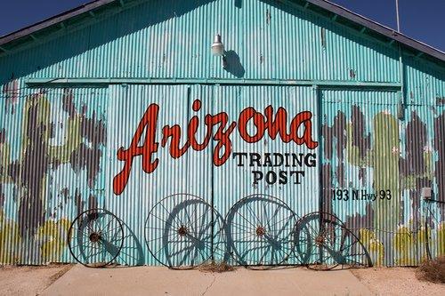 arizona  desert  trading post