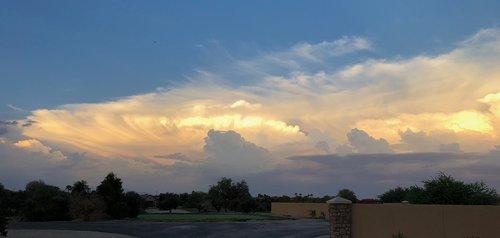 arizona  clouds  sky