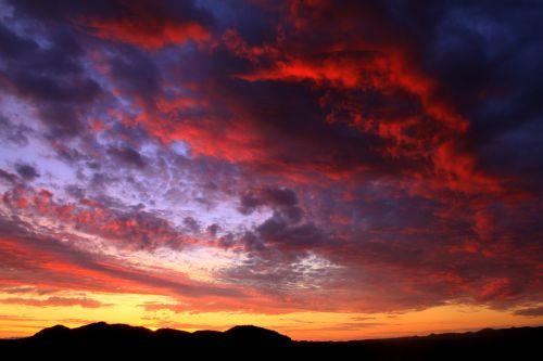 arizona sunset monsoon
