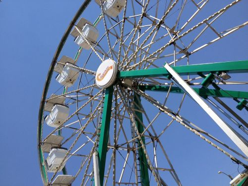 arkansas valley fair ferris wheel carnival ride