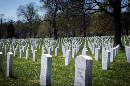 arlington national cemetery headstones military grave