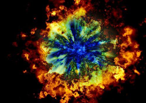 armageddon explosion big bang