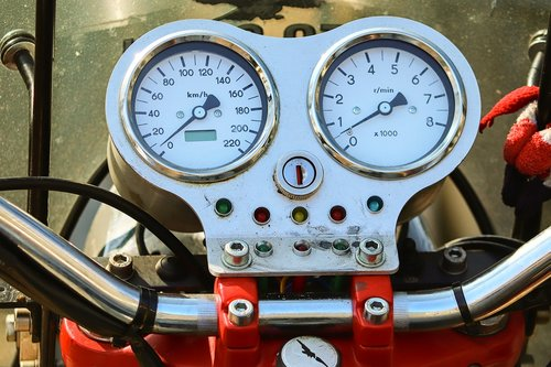 armature  motorcycle  speedo