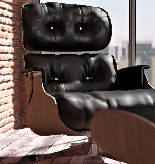 armchair leather chair ic