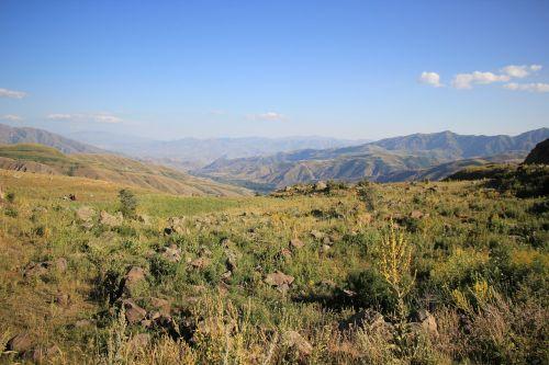 armenia landscape mountain