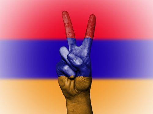 armenia peace flag