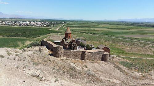 armenia church border