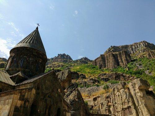 armenia  the monastery of geghard  unesco