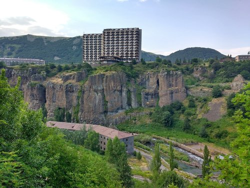 armenia  spa resort  panorama