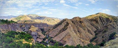 armenia  garni gorge  gorge