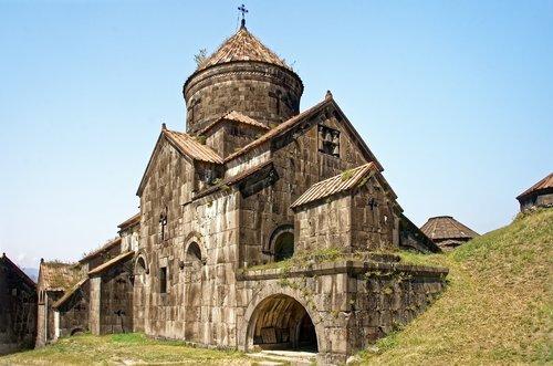 armenia  the monastery of haghpat  holy cross church