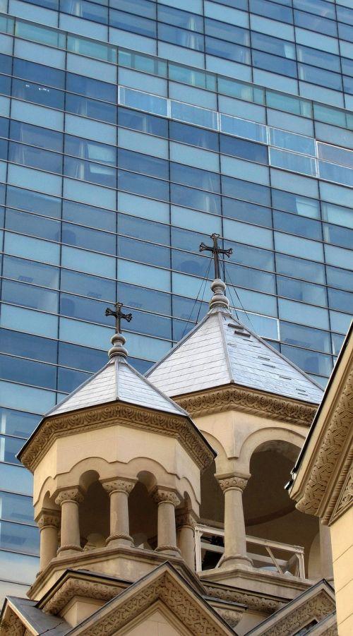 armenian church tower building religion