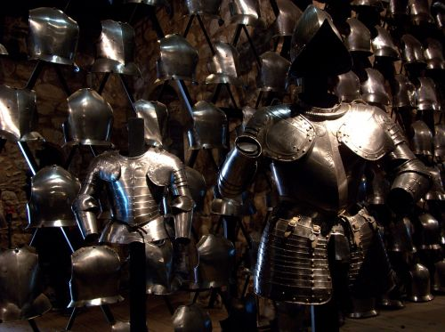 armor soldiers defense