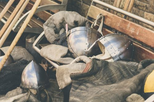 armour knight vintage