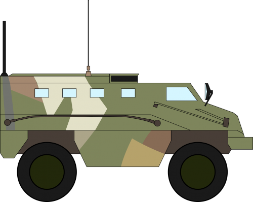 armoured army carrier