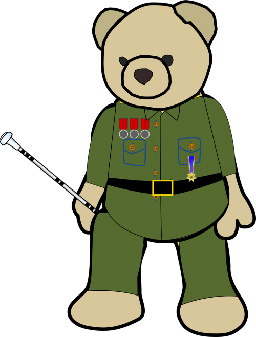 army baton bear