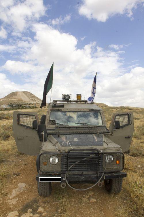 army israel car