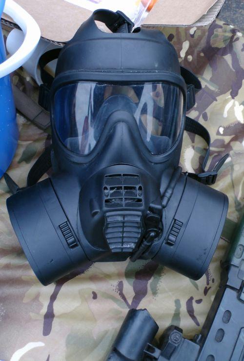 Army Gas Mask GSR Ballistic Rating