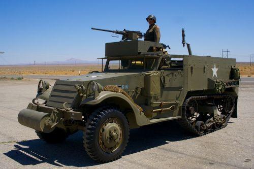 Army Half-Track Vehicle