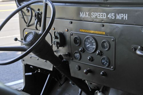 Army Jeep Console