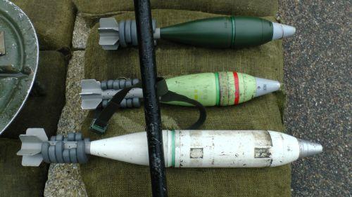 Army Mortar Bombs