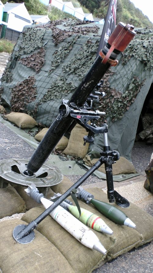 Army Mortar Weapon
