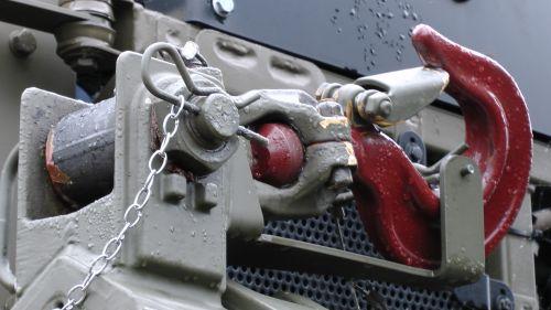 Army Truck Winch Hook
