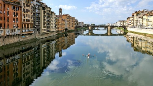 arno river  florence  firenze