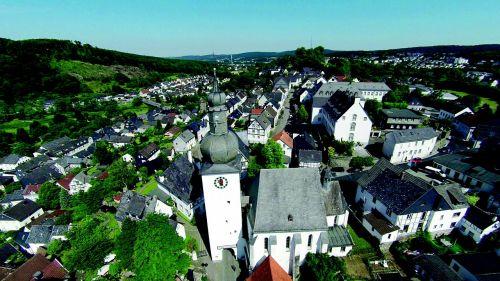 arnsberg old town truss