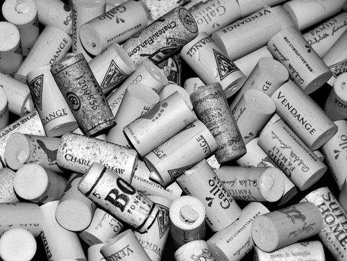 array  corks  background