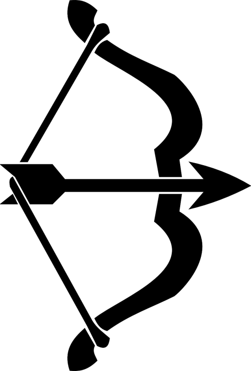 arrow bow heraldic