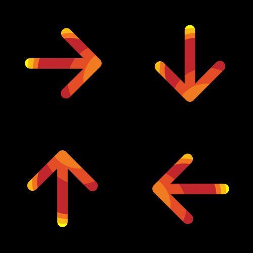 arrow direction navigation