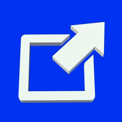 arrow direction top