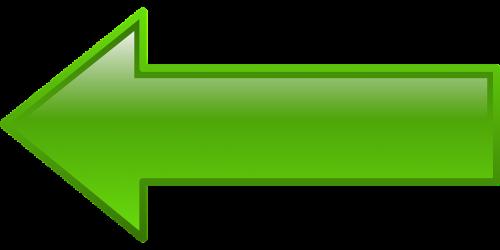 arrow left green