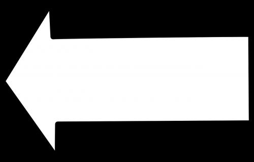 arrow left white