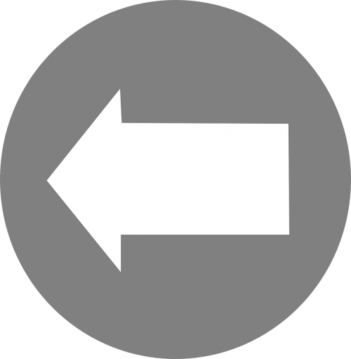 arrow left pointing