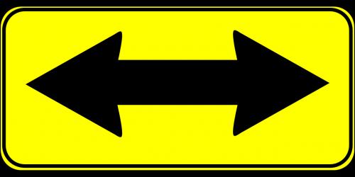 arrow two way