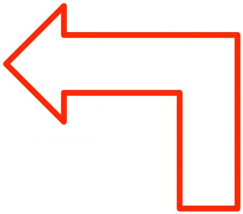 arrow shapes flowchart