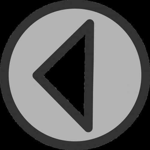 arrow left circle