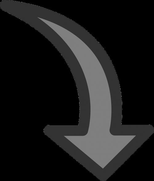 arrow rotate rotation