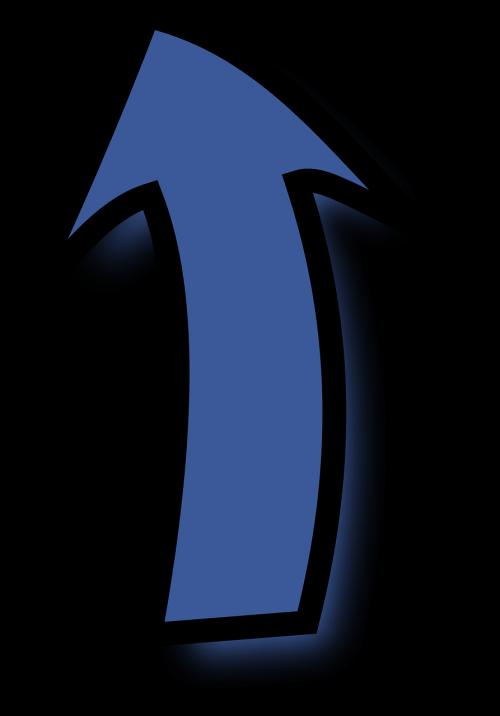 arrow blue up