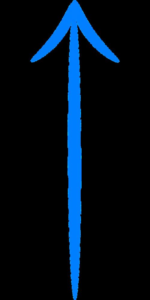 arrow symbol uparrow