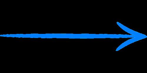 arrow right blue