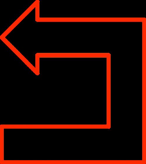 arrow flowchart geometry