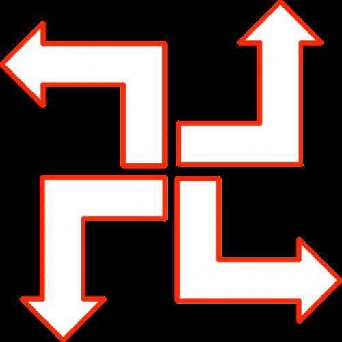 arrow set flowchart