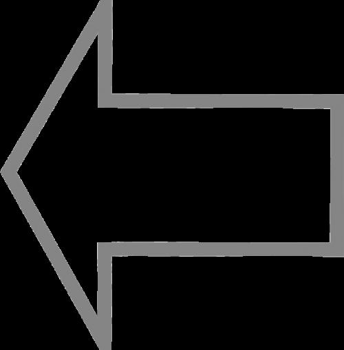 arrow left direction