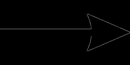 arrow black silhouette